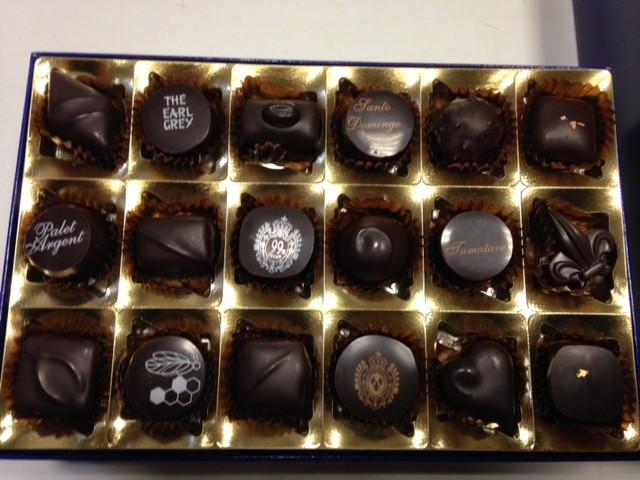 photo de chocolats éphémères.