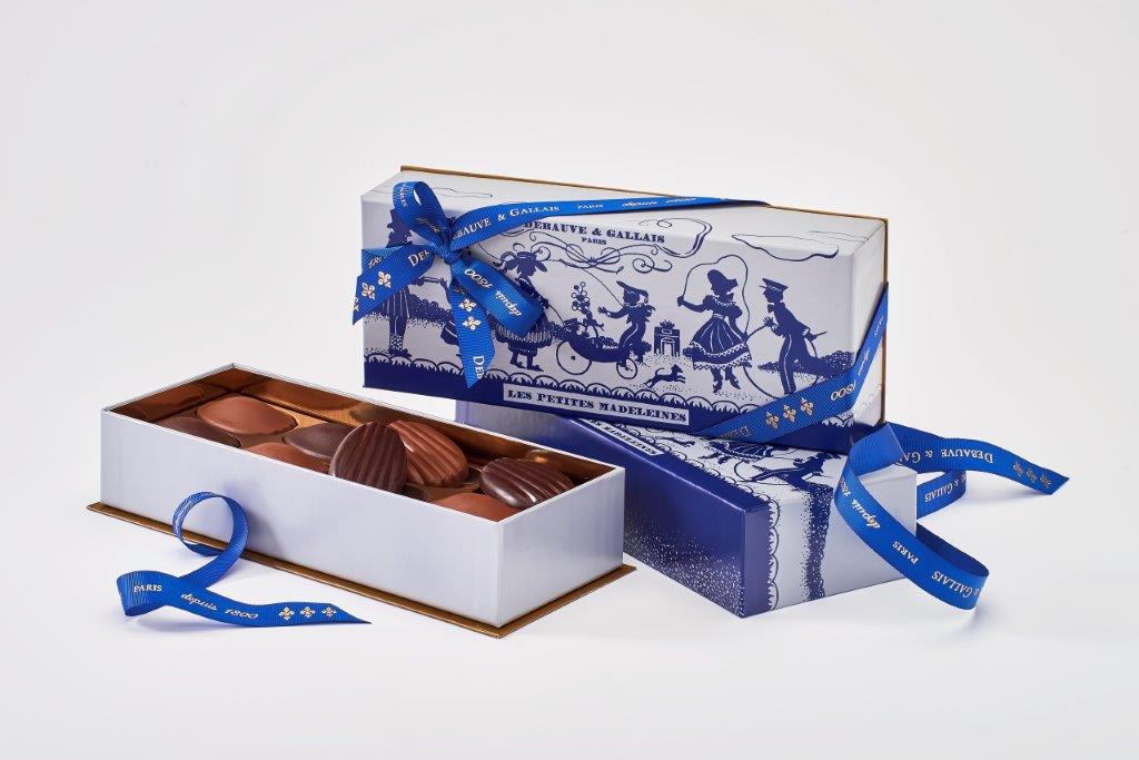Madeleines Chocolat Debauve et Gallais