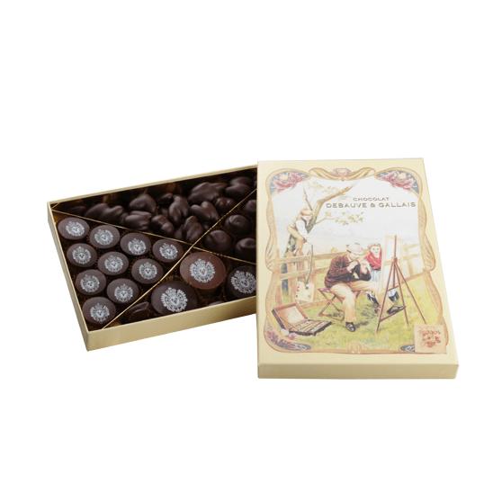 Coffret gourmand de chocolats