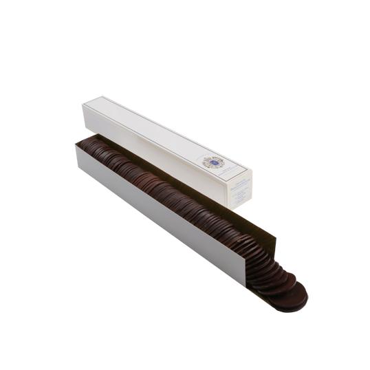 Assortiment de pistoles au chocolat noir et lait