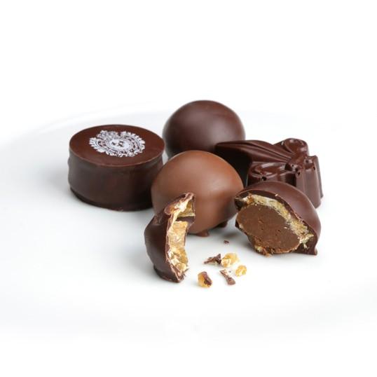 Coffret de bonbons de chocolat
