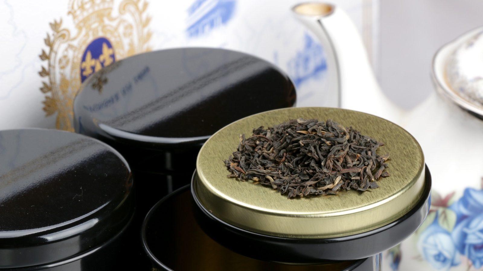 Coffret : assortiment de thés