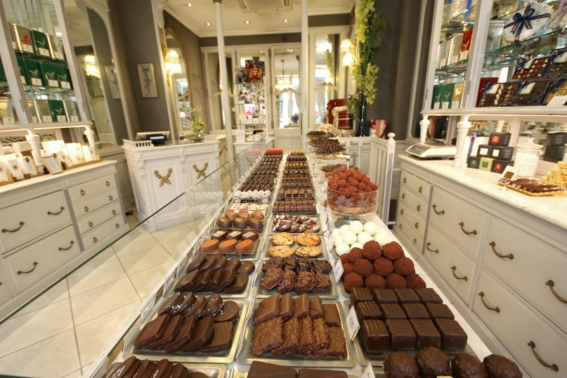 Commande et achat de chocolat en ligne debauve et gallais boutique de choc - Achat de literie en ligne ...