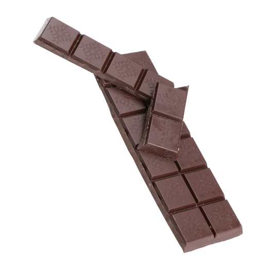 Tablette au chocolat de madagascar