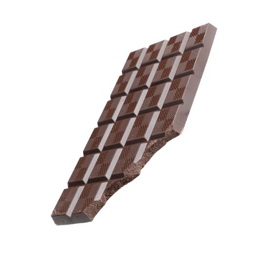 Tablette au chocolat noir et agrumes