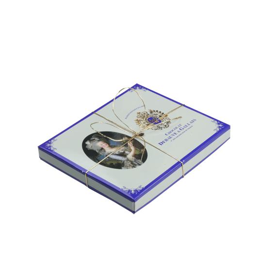 Coffret cadeau de chocolats : Marie-Antoinette