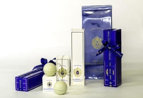 Cadeaux d'affaires de luxe au chocolat