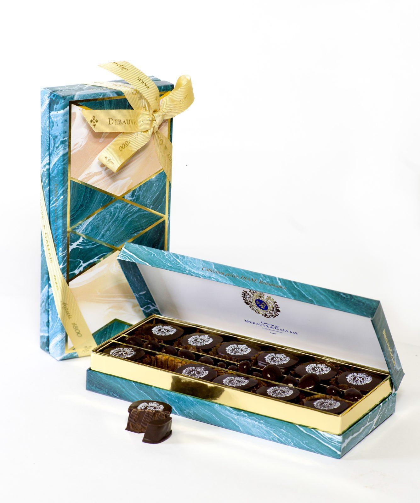 un coffret de chocolat exceptionnel le cadeau id al. Black Bedroom Furniture Sets. Home Design Ideas