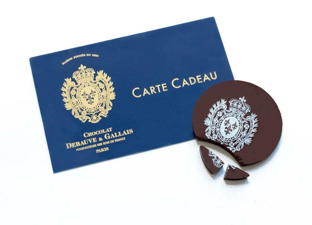 Carte Cadeau Debauve et Gallais